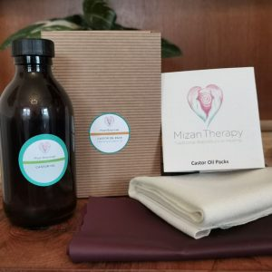 Mizan Botanicals Castor Oil Pack