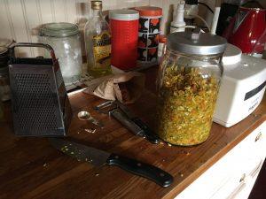 Making Fire Vinegar